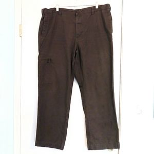 Dockers Dark Green Classic Fit Cargo Pants 40/30